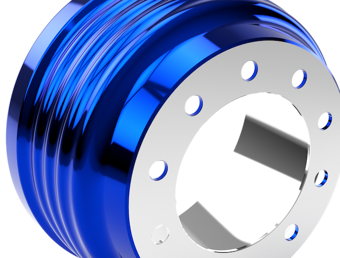 steel shell brake drum
